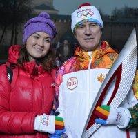 На память об эстафете Олимпийского огня :: Константин Жирнов