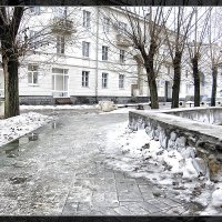 Зима в городе. :: brewer Vladimir
