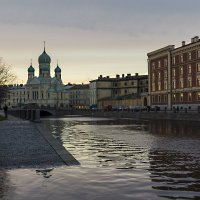 Городской пейзаж :: Александр Дроздов