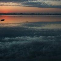 А ниже...только облака и вечер :: Александр | Матвей БЕЛЫЙ