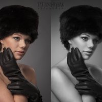 Дама в меховой шапке :: Tatiana Rybak