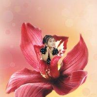 Принцесса цветов :: Мила Колыжихина