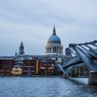 Millenium bridge, London :: Юля Голубцова