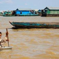 Мария Углова - Камбоджа Озеро Тонлесап