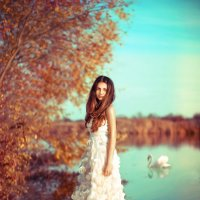 Царство женщины это царство нежности, тонкости, терпимости. :: Ольга Халанская
