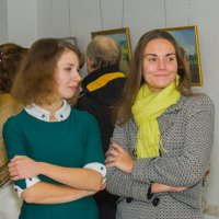 Открытие художественной выставки :: Анастасия Гаврилюк