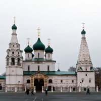 Церковь Ильи Пророка. :: Yuri Chudnovetz