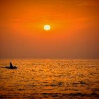 Арабское солнце Персидского залива... :: ROMARIO COOPER
