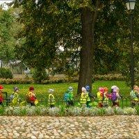 Детвора на прогулке. :: Виктор (victor-afinsky)
