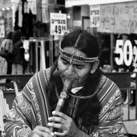 Уличный музыкант :: Shmual Hava Retro