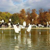 Сад Тюильри в Париже :: ирина )))