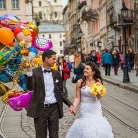 Осенняя палитра свадеб :: Евгений Мокин