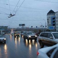 ранний вечер в городе после дождя :: Наталья Золотых-Сибирская
