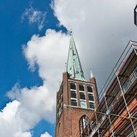 Schweizer Kirche на реставрации :: Алёна Михеева
