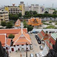 Бангкок, вид с вершины Железного храма :: Владимир Шибинский