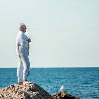 Старик и море :: Сергей Пилтник