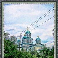 Деревянный храм в с.Дептовка :: Анатолий Михайлович