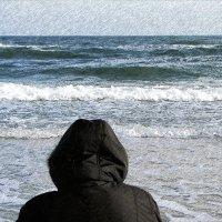 Море, берег, грусть... :: Сергей В. Комаров