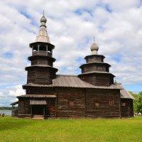 В музее деревянного зодчества Витославлицы (этюд 2) :: Константин Жирнов