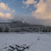 Снег в сентябре :: Альберт Беляев