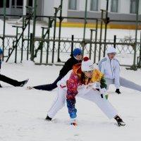 Олимпийская разминка :: Михаил Плецкий