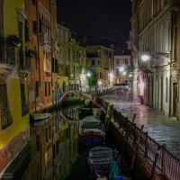 Венеция ночью :: Ростислав Бычков