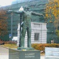 Памятник Владимиру Высоцкому на Страстном бульваре :: Владимир Прокофьев