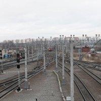 ладожский вокзал :: Валерий Архангельский