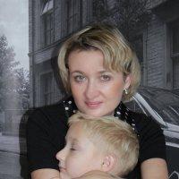 мама и сын :: Ольга Медведева