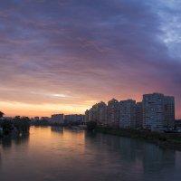 Закат на Кубани :: Игорь Валдаевский