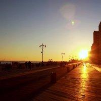 Sunset on the Boardwalk :: Мила Соловьева