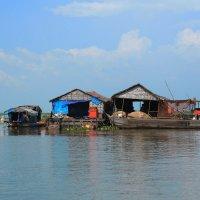 Рыбацкая деревня.Камбоджа. :: Инна Кравченко