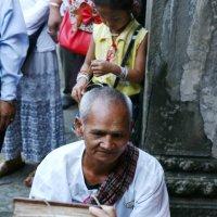 Монах. Ангкор Ват. Камбоджа. :: Инна Кравченко