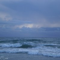 Летний вечер у берега моря :: Елена Сметанина