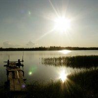 одинокий плот :: Nastya L