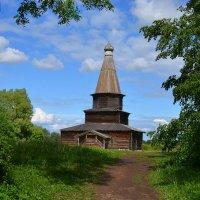 В музее деревянного зодчества Витославлицы (этюд 4) :: Константин Жирнов