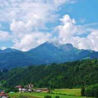 Альпы в Австрии :: Владимир Глазунов