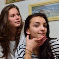 София и Вика. :: Павел Сущёнок