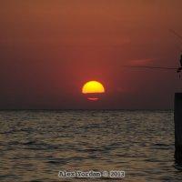 Рыбалка на закате. :: Alex Yordan
