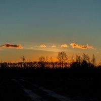 Пламенные облака :: Артём Лагутин