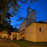 Вечер в новгородском кремле (этюд 3) :: Константин Жирнов