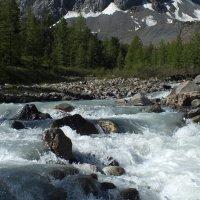 река Большой Актру :: Александр Кузнецов