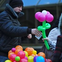 Продавец шариков. :: Nonna