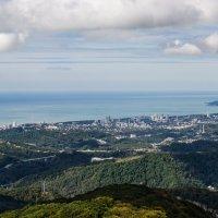 Вид с горы Ахун. :: Константин Карлин