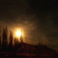 При свете звезд и луны.. :: Александр Герасенков