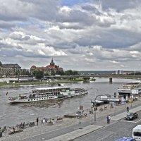 The Elbe in Dresden :: Roman Ilnytskyi