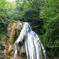 Водопад Джур-Джур. Высота падения воды - 15,6 метров. :: Борис Русаков