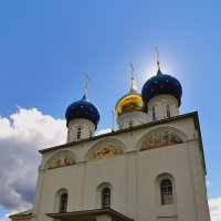 Собор Успения Пресвятой Богородицы во Флорищевой пустыни :: Сергей Банков