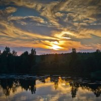 закат :: ник. петрович земцов