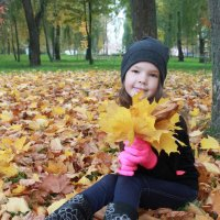 осень в руках :: Дарья Костюшкина